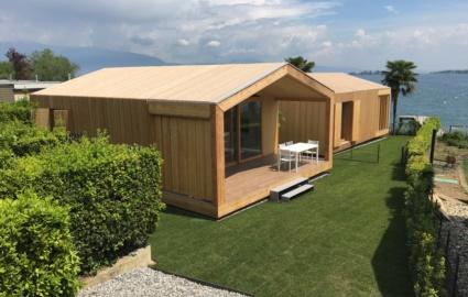 Case in legno prefabbricate su misura produzione legnoquadro for Casa prefabbricata in legno su terreno agricolo