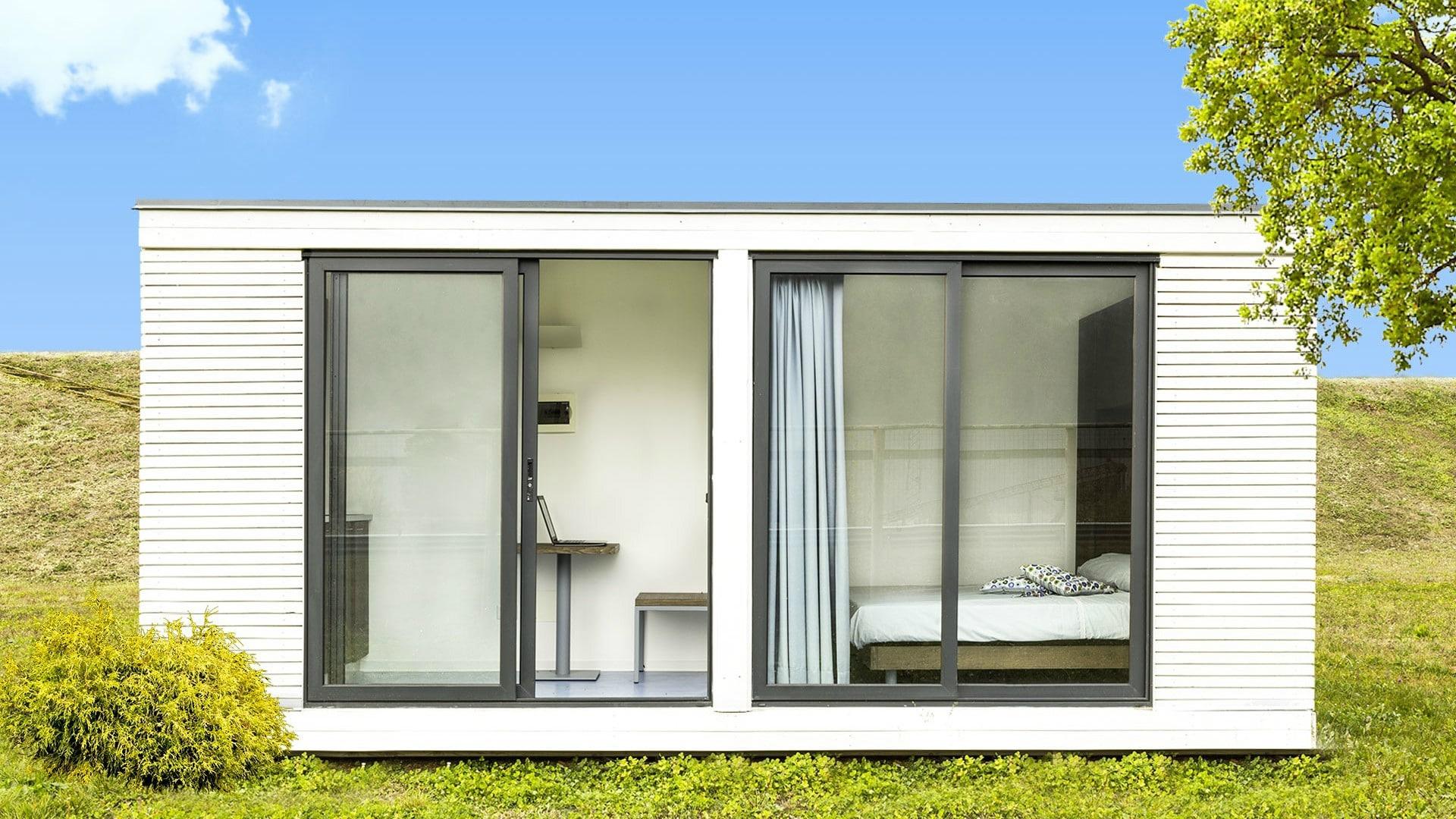 Case prefabbricate trasportabili le verandine legnoquadro - Case trasportabili ...